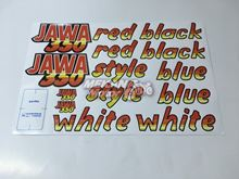 Picture of STICKER SET 640 JAWA 350 STYLE