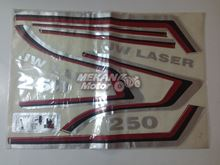 Picture of STICKER SET NEW MODEL JAWA LASER