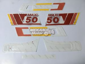 Picture of STICKER SET LASER PUCH