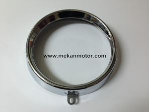 Picture of FRAME OF HEADLAMP CHROMED JAWA 250