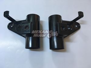 Picture of HEADLAMP HOLDER SET 640 JAWA 350 STYLE