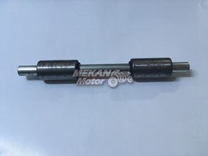 Picture of AXLE OF REAR FORK WITH BUSH JAWA CEYLAN