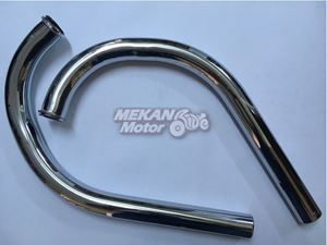 Picture of EXHAUST PIPE SET OGAR JAWA 354