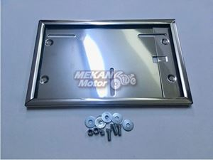 Picture of LICENCE PLATE CHROME JAWA 250