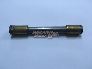 Picture of AXLE OF REAR FORK WITH BUSH JAWA 350