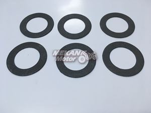 Picture of GASKET SET OF SLIENCER BEST QUALITY JAWA 350