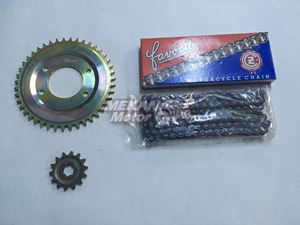 Picture of CHAIN SPROCKET SET MINSK