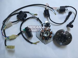Picture of ELECTRONICAL IGNITION SET 12V  JAWA 350