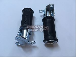 Picture of REAR FOOTREST COMPLETE SET ORIGINAL TYPE JAWA 250