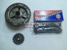 Picture of CHAIN SPROCKET SET SPOKE TYPE MZ