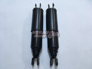 Picture of REAR SHOCK ABSORBER SET PLASTIC COVER TYPE JAWA 250